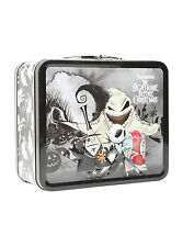 Disney Nightmare Before Christmas Chibi Group Lunch Box Vintage Metal Loungefly