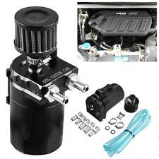 300ML Oil Catch Can Baffled Breather Petrol Diesel Turbo Tank Reservoir Kit