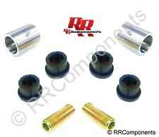 """( 2 QTY )  Weld-On Poly Bushing 2.00"""" OD X 3.00"""" Wide, 5/8"""" Bore"""