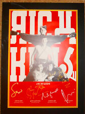 RICH KIDS - Genuine Set Of Signed Autographs - AFTAL REG'D DEALER - SEX PISTOLS