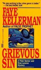 Peter Decker and Rina Lazarus Novel: Grievous Sin by Faye Kellerman (1994,...