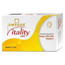 Omegor Vitality 1000 - Omega 3 - 30 Perle da 1410 mg