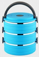 2/3Tier Lunch Boxes Thermal Bento Box Insulated Stainless Steel Tiffin For Adult