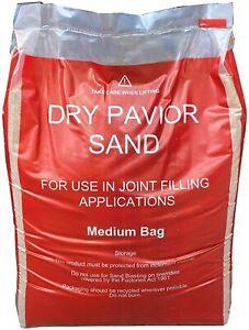 Kiln Dried Paving Sand Large Bag 25kg Sweep Into Paving Blocks Joints