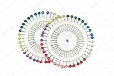 2 Rueda de alfileres cabeza de colores ideal para costura. Envío España.