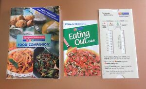 Weight Watchers 1-2-3 Success Food Companion + Eating Out Guide + POINTSFinder