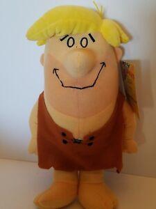 Flintstones Barney Rubble Plush Toy Doll Sugar Loaf Vintage NWT Warner Bros