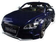 2011 AUDI TT RS BLUE 1:18 DIECAST MODEL CAR BY BBURAGO 12080