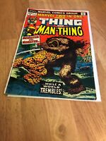 Marvel Comics Two-in-One The Thing and The Man-Thing Vol. 1 No. 1 January 1974