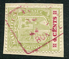 MAURITIUS: (13094) railway/ postmark/cancel