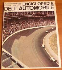 Sergio Pininfarina ENCICLOPEDIA DELL'AUTOMOBILE 1968 n°45 500MIGLIA INDIANAPOLIS