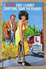 Collectable Comic Seaside Postcard - No 100075