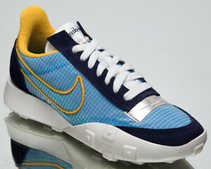 Nike Waffle Racer 2X Women's Blackened Blue Casual Lifestyle Sneakers Shoes