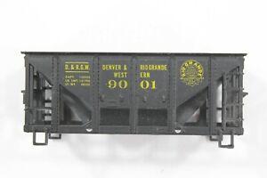 HO Roundhouse Rio Grande 26ft Rib Side Ore Hopper, New Vintage Unassembled Kit