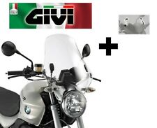WINDSCREEN CLEAR COMPLETE BMW R 1200 R 2011 2012 2013 2014 GIVI 147A