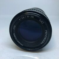 PENTACON PRAKTICAR PB 70-210mm f4-5.6 MACRO MC Zoom Lens - Tested & Working