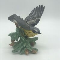Vintage Lenox Magnolia Warbler Porcelain Bird Figurine Garden Birds Collection