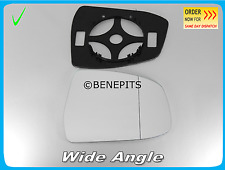 For FORD MONDEO 2007-2010 Wing Mirror Glass Wide Angle +BP + TAPE Right  /D033