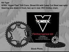 Vortex HFRS Steel 520 Conv. Chain and Sprocket Kit - 15/47T 110 Links  CK6292