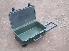 Green Peli iM2500 Storm Waterproof Case Airline Hand Luggage WITH WHEELS Handle