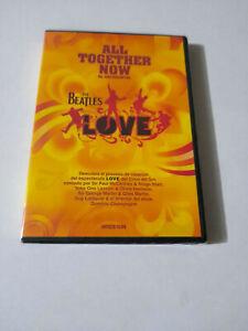 "THE BEATLES ""LOVE ALL TOGETHER NOW EL DOCUMENTAL"" DVD PRECINTADO SEALED PAUL MCC"