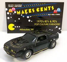 Vintage TYCO PONTIAC FIREBIRD Black & Gold Slot Car HO Scale Original (2)