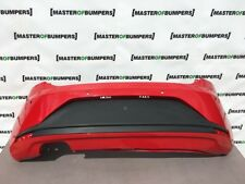 SEAT LEON FR 2013-2015 REAR BUMPER IN RED GENUINE [O2]