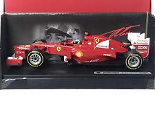 Hotwheels X5520 Ferrari F2012 Fernando Alonso 2nd Formula 1 2012 1:18