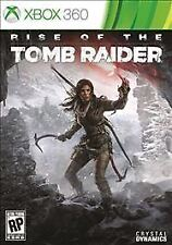 Rise of the Tomb Raider USED SEALED (Microsoft Xbox 360, 2015)