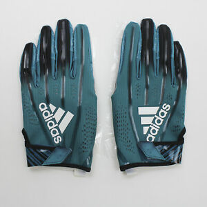 No Current Team adidas  Gloves - Receiver Men's Teal/Black New with Tags