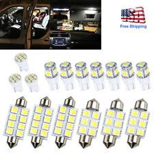 16x 12V Car White LED Bulbs Interior Light Kit Fit for 2004-2011 2012 Ford F150