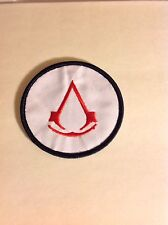Assassin's Creed Embroidered Iron On/Sew On Patch