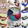 Women Suede Flats Loafers Ballerina Ballet Ladies Dolly Pumps Single Boat Shoes