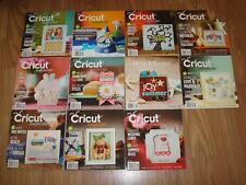 Cricut Magazines Lot # 3