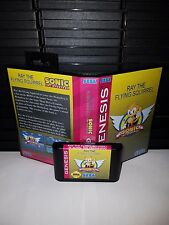 Ray the Flying Squirrel in Sonic the Hedgehog Game for Sega Genesis! Cart & Box
