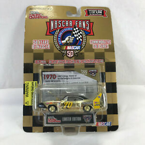 1970 Gold Series Nascar Plymouth Superbird Racing Champions Die Cast Replica