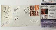 Jim Irwin & Al Worden Signed Autographed First Day Cover JSA Certified Apollo 15