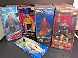 STAR TREK Command FEDERATION Bajor INSURRECTION Ed. Playmates VTG NIP U PICK