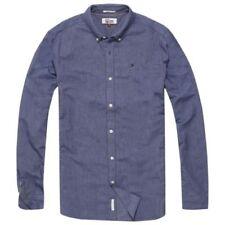 Camisas y polos de hombre azules Tommy Hilfiger talla M