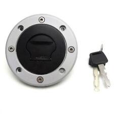 For SUZUKI GSXR 600 750 1000 2000-2003 Fuel Gas Cap Fuel Tank Cover W/2 Lock Key