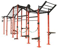 WE R Sports POWER RACK commerciale Crossfit Power Cage Pull CHIN UP TRICIPITE 23