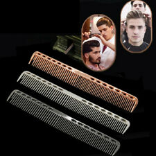 Metal Aluminum Cutting Hair Comb Salon Professional Hairdressing Barbers Combs