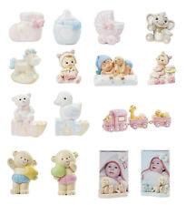Baby 3-9 cm, Dekofigur Kinder Geburt Taufe, Tischdeko Tortenfigur Hobbyfun