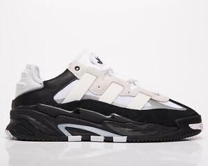 adidas Originals Niteball Men's Cloud White Black Silver Lifestyle Sneakers Shoe