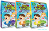 COLOUR CHANGE GELLI BAFF + Blue Red Green Glitter Smelli Snow Bath Zimpli Kids