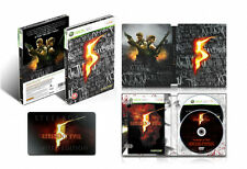 Resident Evil 5 Limited Edition Steelbook Xbox 360 Xbox360 Game UK Release
