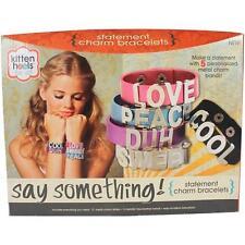 New Kitten Heels Jewelry Making Craft Kit - Say Something Kit