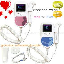 color LCD C2 Pocket Fetal Doppler hand-held fetal heart rate pregnant 2MHz probe