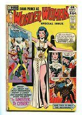 WONDER WOMAN #197 - NICE GIORDANO COVER - WW #181 / 182 REPRESENTED - 1971