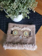 ❤ Gorgeous Womens Winter Owl Hat One Size Beautiful ❤